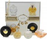Lancome Precious Collection Miniatures Giftset 7ml Cacharel Noa + 7.5ml Lancome Tresor + 4ml Ralph Lauren Safari + 4.8ml Paloma Picasso + Charm Bracelet