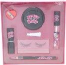 Betty Boop Presentset Lösögonfransar + Lim + Eye Liner + Vässare + Liten Spegel + Lip Sealant + Läppstift