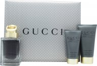 Gucci Made to Measure Gift Set 50ml EDT + 50ml Aftershave Balm + 50ml Duschgel