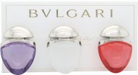 Bvlgari Omnia Collection Jewel Charm Coffret Presentset 15ml EDT Omnia Crystalline + 15ml EDT Omnia Coral + 15ml EDT Omnia Amethyste