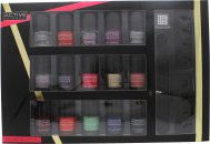 Active Cosmetics Glamour Nail Bar Selection 15 x 5ml Nagellack + 2 x Tådelare + Nagelfil + 25 x Nagelstenar