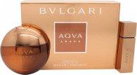 Bvlgari Aqva Amara Gift Set 100ml EDT + 15ml EDT