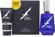 Parfums Bleu Limited Blue Stratos Presentset 50ml EDT + 25ml Rakgel