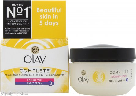 OLAY Complete Care Night Cream 50ml Normal/Torr/Fet Hy