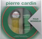 Pierre Cardin Pour Monsieur Gift Set 75ml EDT + 200ml Deo Spray
