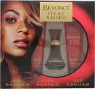 Beyonce Heat Kissed Presentset 30ml EDP + 75ml Body Lotion + 75ml Duschgel