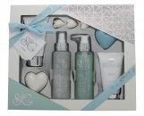 Style & Grace Puro Pure Bliss Bath & Body Gift Set 120ml Body Wash + 100ml Body Lotion + 120ml Body Mist + 50g Tvål + 100ml Body Scrub + 3x5g Pearls