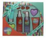 Style & Grace Bubble Boutique Bath & Body Blockbuster Gift Set 120ml Body Wash + 100ml Body Lotion + 120ml Body Mist + 45g + 100ml Body Scrub + 3 x 5g Pärlor