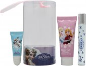 Disney Frozen Presentset 9ml Rollerball + 25ml Bubble Bath + Lipgloss