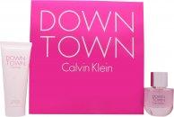 Calvin Klein Downtown Giftset 50ml EDP + 100ml Duschgel