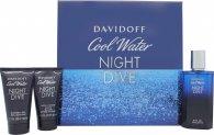 Davidoff Cool Water Night Dive Presentset 75ml EDT + 50ml Duschgel + 50ml Aftershave Balm