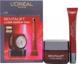 L'oreal Revitalift Laser Renew Anti-Ageing Skincare Presentset 50ml Day Cream + 15ml Eye Cream