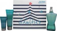 Jean Paul Gaultier Le Male Gift Set 125ml EDT + 75ml Duschgel + 30ml Aftershave Balm
