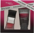 Bruno Banani Dangerous Woman Presentset 20ml EDT + 50ml Duschgel