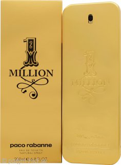 Paco Rabanne 1 Million Eau De Toilette 200ml Sprej