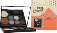 Sunkissed Beautiful Bronze Beauty Booster Presentset 6 x 2g Ögonskuggor + 4g Bronzer + 4g Highlighter + Applikator