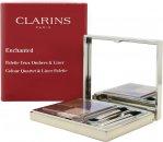 Clarins Enchanted Colour Quartet & Liner Palette 4.9g (5 x Ögonpalett + 2 x Applikatorer)