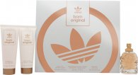 Adidas Born Original for Her Presentset 50ml EDP + 75ml Body Lotion + 75ml Duschgel