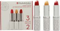 Elizabeth Arden Eight Hour Cream Lip Protectant Stick 3 x 3.7g