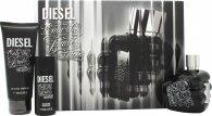 Diesel Only the Brave Tattoo Gift Set 75ml EDT + 50ml Shower Gel + 100ml Shower Gel