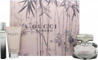 Gucci Bamboo Giftset 50ml EDP + 50ml Body Lotion + 7.4ml EDP
