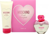 Moschino Pink Bouquet Gift Set 50ml EDT + 100ml Body Lotion