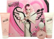 Katy Perry Mad Love Gift Set 30ml EDP + 75ml Body Lotion + 75ml Duschgel