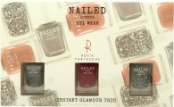 Nailed London Gel Wear Instant Glamour Presentset 3 x 10ml Nagellack (Knight Rider + London Conundrum + Rosie's Red)