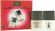 Butter London Nail 999 Rescue System Presentset 11ml Topcoat + 11ml Basecoat