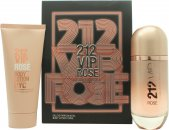 Carolina Herrera 212 VIP Rosé Presentset 80ml EDP Spray + 100ml Body Lotion