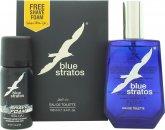 Parfums Bleu Limited Blue Stratos Presentset 100ml EDT + 45ml Raklödder