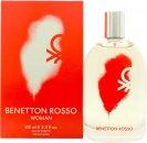 Benetton Rosso Woman Eau de Toilette 100ml Sprej