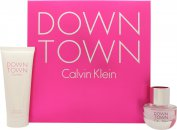 Calvin Klein Downtown Giftset 30ml EDP + 100ml Duschgel