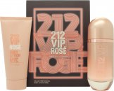 Carolina Herrera 212 VIP Rosé Presentset 80ml EDP Spray + 100ml Body Lotion