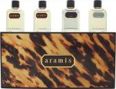 Aramis Miniature Presentset 7ml Aramis EDT + 7ml Aramis Aftershave + 7ml Black EDT + 7ml Voyager EDT