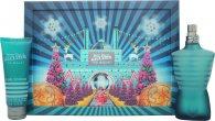 Jean Paul Gaultier Le Male Gift Set 125ml EDT + 75ml All Over Duschgel (Christmas Edition)