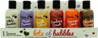 I Love... Presentset 6 x 100ml Bubble Bath