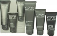 Clinique For Men Presentset 100ml Moisturizing Lotion + 60ml Cream Shave + 50ml Charcoal Face Wash