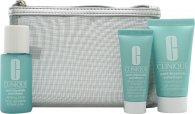 Clinique Hello, Clear Skin Anti-Blemish Solutions Presentset 30ml Cleansing Gel + 30ml Clarifying Lotion + 15ml All-Over Clearing Treatment