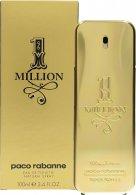 Paco Rabanne 1 Million Eau De Toilette 100ml Sprej