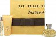 Burberry Weekend Presentbox 50ml EDP + 50ml Hud Lotion + 7.5ml EDP