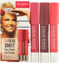 Bourjois Color Boost Gift Set 3 x Lip Crayon