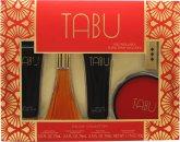 Dana Tabu Gift Set 90ml EDC + 75ml Body Lotion + 75ml Body Wash + 52.5ml Dusting Powder