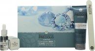 Bellapierré Precious Diamonds Complete Nail Care System Presentset 120ml Hand & Body Lotion + 15ml Cuticle Oljebehandling + Diamond Nagelfil + Nail Buffer
