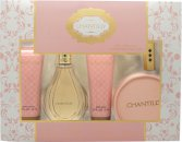 Dana Chantilly Gift Set 90ml EDT + 52.5g Dusting Powder + 75ml Body Lotion + 75ml Dusch Gel